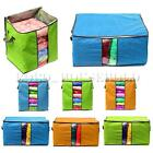 Foldable Jumbo Clothes Bedding Duvet Zipped Handles Clothing Pillow Storage Bag