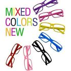 BlogFashion Girl&Boy Style Fashion Frame Geek Elegant Glasses No Lens Multicolor