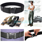 Adjustable Militaria Military CQB Survival Tactical Belt Emergency Rescue Rigger