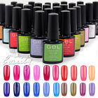 ONE STEP UV SOAK OFF NAIL ART GEL POLISH 10ML BOTTLES, TOP COAT, BASE COAT