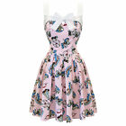 Hell Bunny Funfair Vintage 50s Style Cupcake Print Mini Party Prom Dress