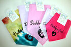 "Fun Dog/Pet Bandana Scarf-Ties Around Neck - ""DADDY'S GIRL"" - Pick Size/Color"