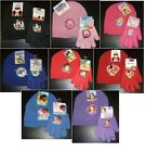 Childrens Character Hat & Glove Sets Minnie,Mickey,Peppa Pig, Planes etc