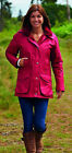 Ladies Jacket Waterproof Raincoats Country Estate Champion Hood Warm Ambleside