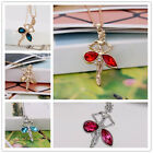 New Fashion Women Silver,Gold Chain Dancer Girl Crystal Pendant Necklace jewelry