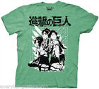 NEW Attack On Titan Scout Group Adult T Shirt Adult Swim Anime TV Cartoon