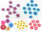 50x 6mm Nail Art Fimo Clay Slices Flower fit Nails Mp3,Phones,Cameras,etc Decor