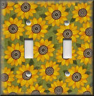 Switch Plates And Outlet Covers - Happy Sunflowers - Floral Home Decor - Country