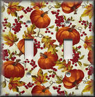 Switch Plates And Outlet Covers - Fall Leaves And Pumpkins - Country Home Decor