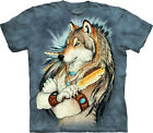 Native American Indian Warrior themed T-shirt 100% Cotton The Golden Feather