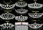Bridal Tiaras - Coice of 9 Types for a Bride - Pearl Heart Crystal Wedding Party