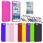 Ultra Slim Thin Soft Matte Silicone Rubber Skin Case Cover for iPhone 6 (4.7)