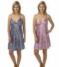 Womens Snake Chemise Ladies Nightdress Lingerie Nightwear New Nightie Size 8-20