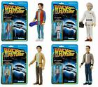 Back to the Future Funko ReAction Action Figures Marty McFly Doc Brown Choose