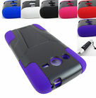 FOR SAMSUNG GALAXY AVANT G386 RUGGED T-STAND HYBRID ARMOR CASE COVER+STYLUS/PEN