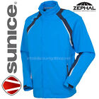 exDISPLAY SUNICE OMAHA LIGHTWEIGHT WATERPROOF  BREATHABLE MENS BLUE GOLF JACKET