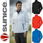 Sunice Rotterdam Lightweight Waterproof Breathable Mens Golf Jackets in BLACK