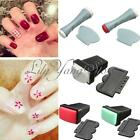 Pro Nail Art Polish Single Side Stamp Stamping Scraper DIY Design Manicure Tool