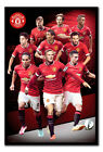 Framed Manchester United Players Collage 2014 / 2015 Season Poster New