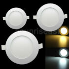 3W 4W 6W 9W 12W 15W Warm Cool White Panel LED Ceiling Recessed lights Lamp Slim