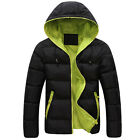 TOPS DESIGNER Men Winter Warm Hooded DOWN Coat Winter DOWN JACKETS 3Color 5 SIZE