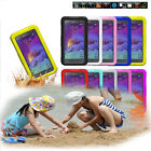 New Waterproof Shockproof Dirt Life Proof Back Case for Samsung Note 2 3 4