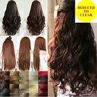 """17-30"""" Long Clip in on Hair Extensions 100% Synthetic real as human hair Piece"""