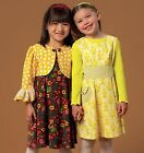 McCall's 7011 Easy Sewing Pattern to MAKE Girls' Dress & Jacket