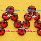 GENUINE Swarovski Red Magma (REDM) Crystal (No hotfix) Flat back Rhinestones Gem