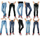 626 Denim Designer Fashion Mens Slim Fit Skinny Jeans - Multiple Styles