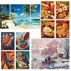 Paint by Numbers Schipper News Autumn 2014 SOUTH SEA OWL ~ DREAMS~WINTER~COOKIES