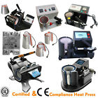 Mug Stand Press Heat Press Sublimation Transfer Machine CE Certified + Controls