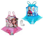 AU SELLER Girls Frozen Elsa Anna One Piece Swimwear Dance Leotard  gs004
