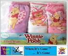 3 Pack Disney Winnie The Pooh Briefs/Knickers 1-2-3-4-5 Years 100% Cotton
