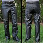 HEAVY Leather Motorcycle Riding Pants All Sizes $250+ Value