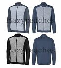 ADIDAS GOLF MENS SIZE S M L XL 2XL 3XL SPACE DYED Colorblock FULL ZIP Jacket
