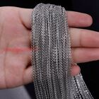 1.5-3.2mm wholesale chains commen useful thin stainless steel welding oval chain