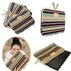 "Bohemian Design 12"" 14"" 15.6"" Laptop Sleeve Cover Bag Notebook Case For Dell HP"