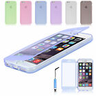 FLIP SOFT Crystal Silicone CASE COVER FOR iPHONE 6 + SCREEN PROTECTOR