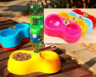 2014 New Pet Dog Cat Automatic Water Dispenser Food Dish Bowl Feeder Top