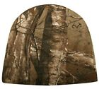 Polar Fleece Camo Cap Hunting Outdoor Beanie Hat Mossy Oak Oilfield Realtree NEW