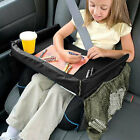 Kids Car Seat Snack and Play Travel Tray - On the Go Waterproof Tray