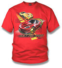 Boy's Corvette T-Shirt Red Built For Speed