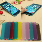 Flip TPU Silicone Wrap Up Case with Built in Screen Protector for Iphone 6 Plus