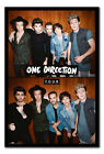 One Direction 1D Four Album Official Magnetic Notice Board Includes Magnets