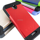 For HTC Desire 510 Tough Hybrid Armor Protective TPU Slim Case +PC Hard Cover