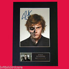 EVAN PETERS American Horror Story Signed Mounted Photo Display TV Repro A4 561