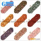 "Freeform Natural Gemstone Rondelle Disc Loose Beads 15"" 3-5x9-13mm Crafts Making"