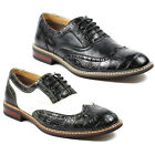 Ferro Aldo Mens Lace Up Dress Classic Oxford Shoes w/ Leather Lining M-139001B