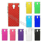 1× Popular Charm Case For XiaoMi Phone Pretty Crystal Diamond Back Plastic Cover